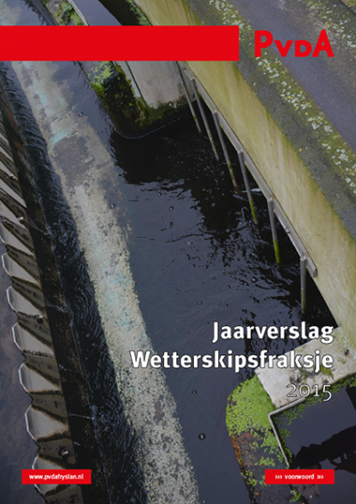 Jaarverslag Wetterskipsfraksje 2015